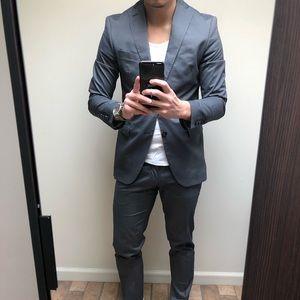Zara Slim Fit Fashion Suit 38/31